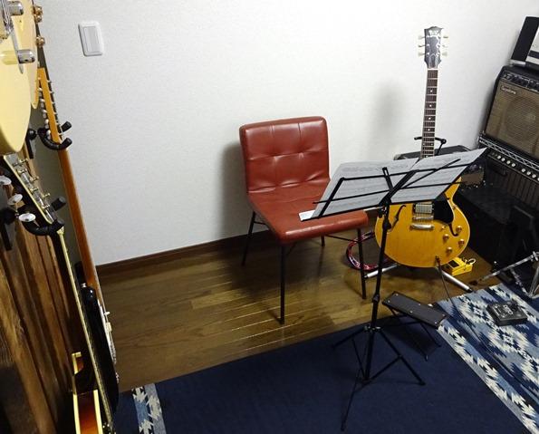 Funギタースクール池袋要町のレッスン部屋