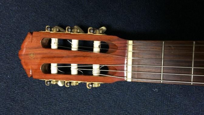 Funギタースクールの貸出用クラシックギター