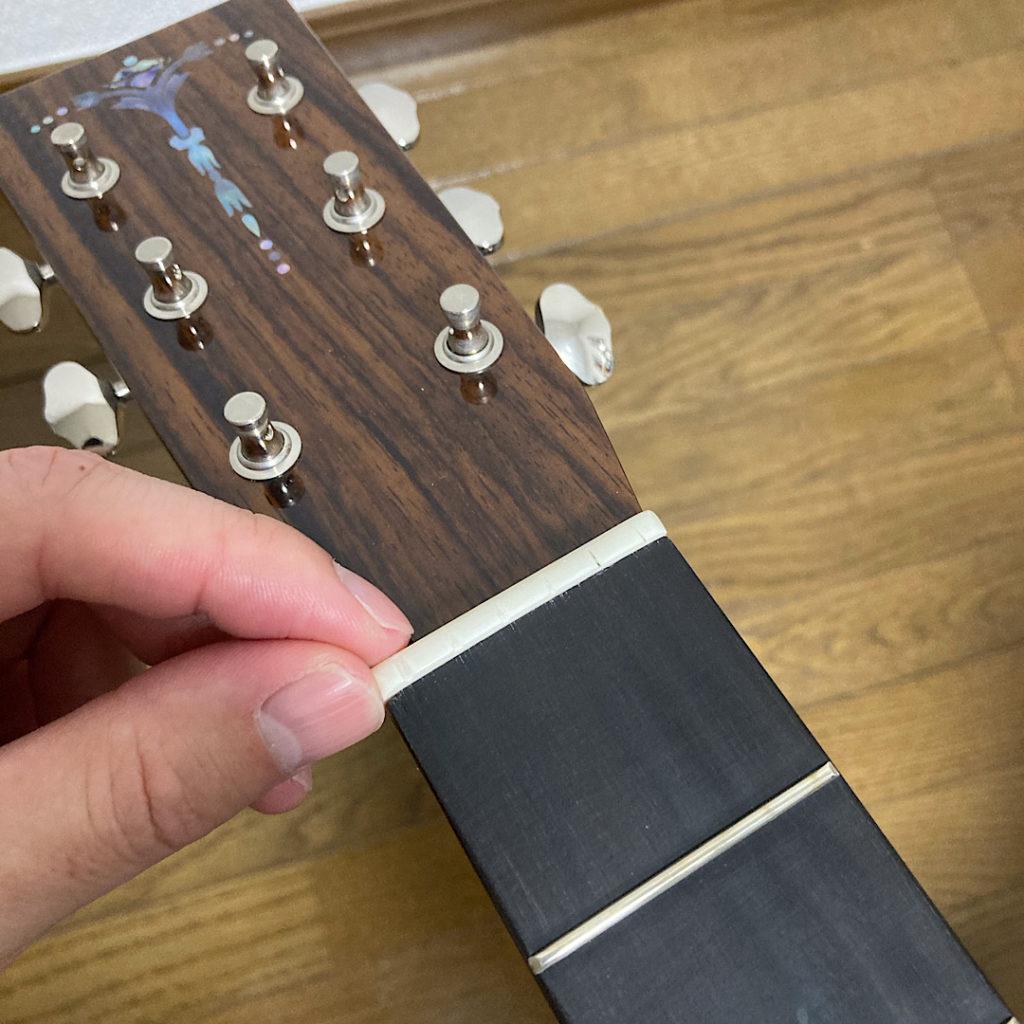 アコギの古くなった弦交換