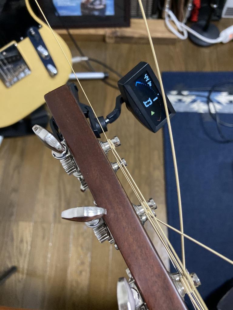 アコギ弦交換 チューニング