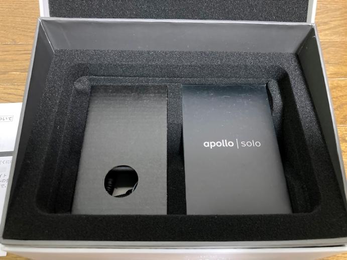 Apollo Solo USB 箱の中