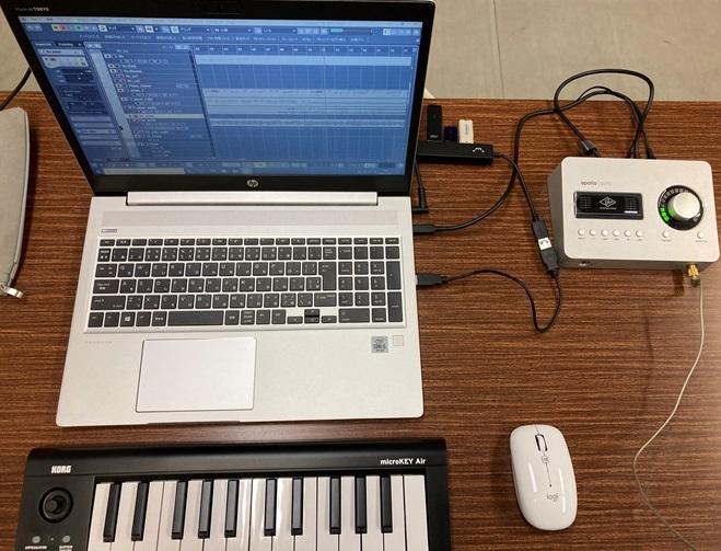 Apollo Solo USB 使用風景