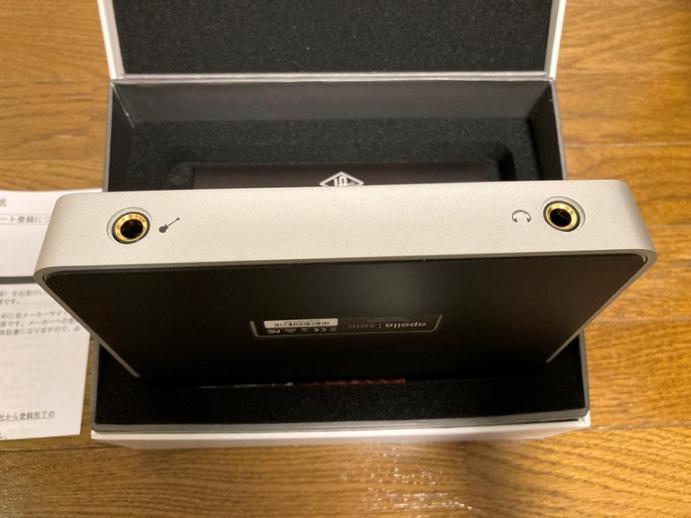 Apollo Solo USB 前面