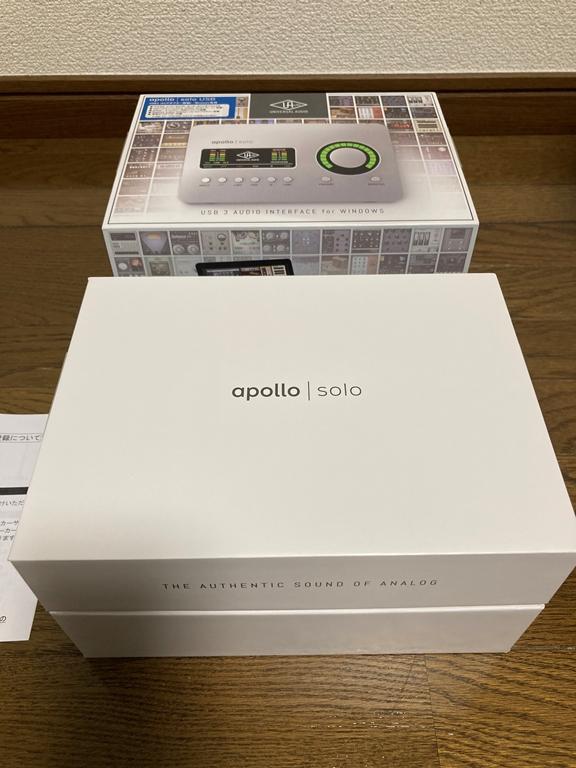 Apollo Solo USB 箱