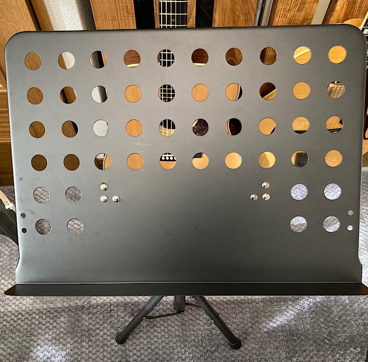 新しい譜面台